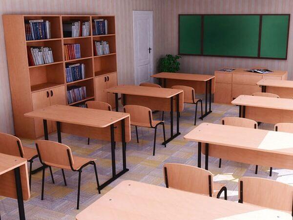 Столы и шкаф для школы на заказ